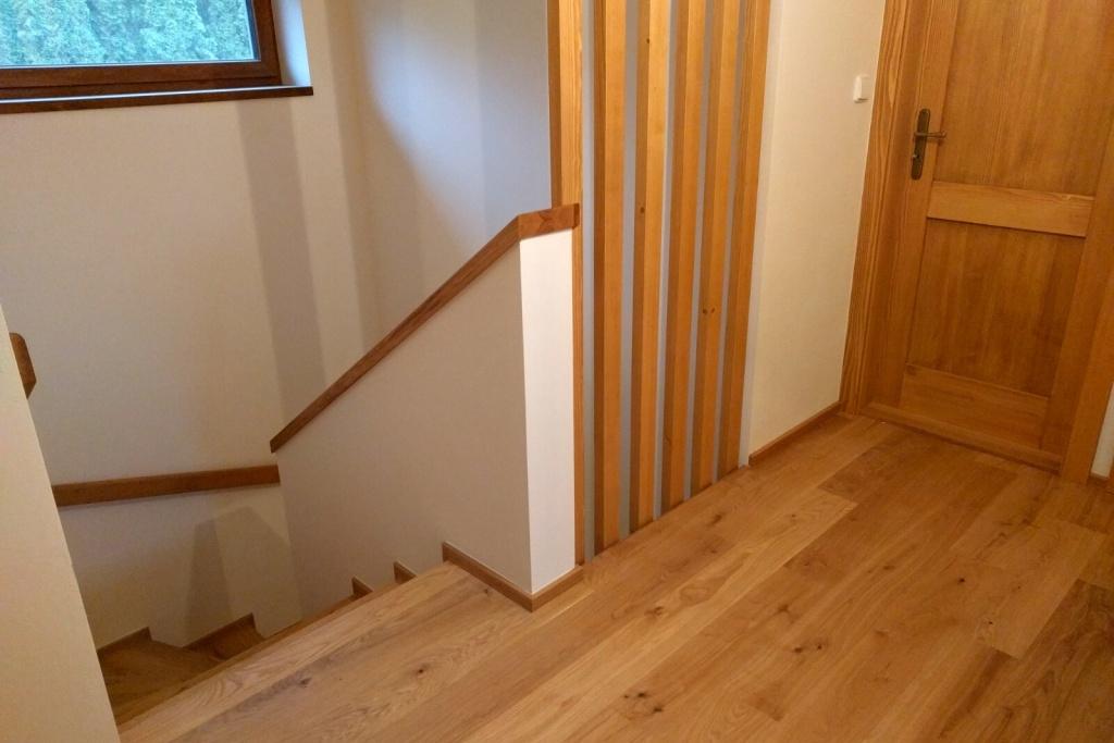 dřevěné schody yesfloor